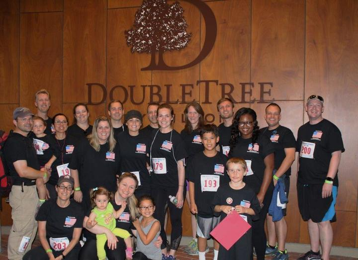 9\11 5k Team Doubletree T-Shirt Photo