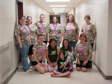 Relay For Life Team Hoofin' It For Hope T-Shirt Photo