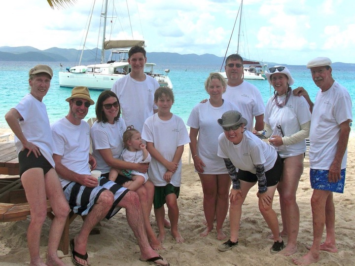 El Gee's Family 2016 Vacation Soggy Dollar T-Shirt Photo