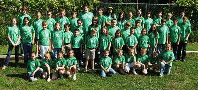 2009 Students For Service   Elementary T-Shirt Photo
