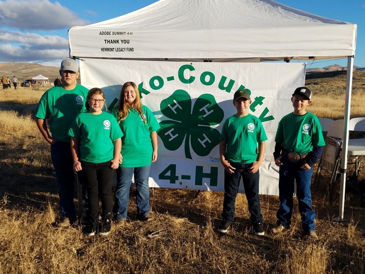 Clark County Nv State 4 H Shooting Sports Team T-Shirt Photo
