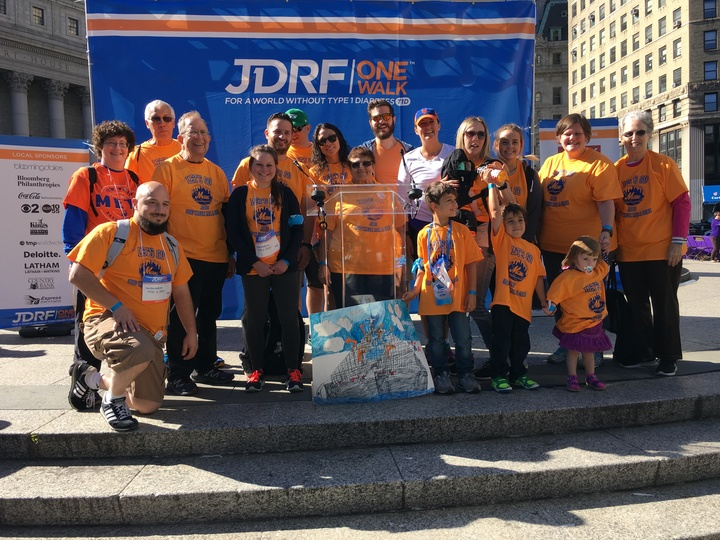 2016 Jdrf Walk For A Cure T-Shirt Photo