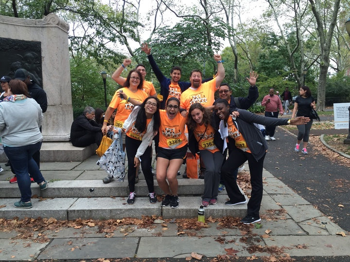 Ibi Group   Gruzen Samton At The St. Jude Walk/Run T-Shirt Photo