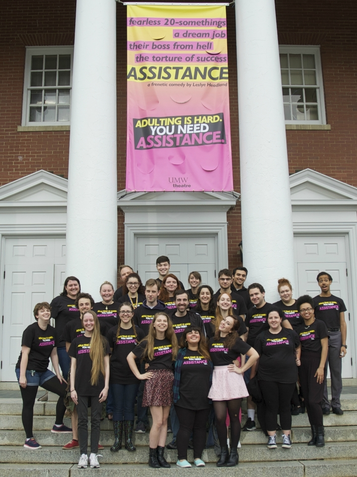 Umw Theatre Needs Assistance T-Shirt Photo
