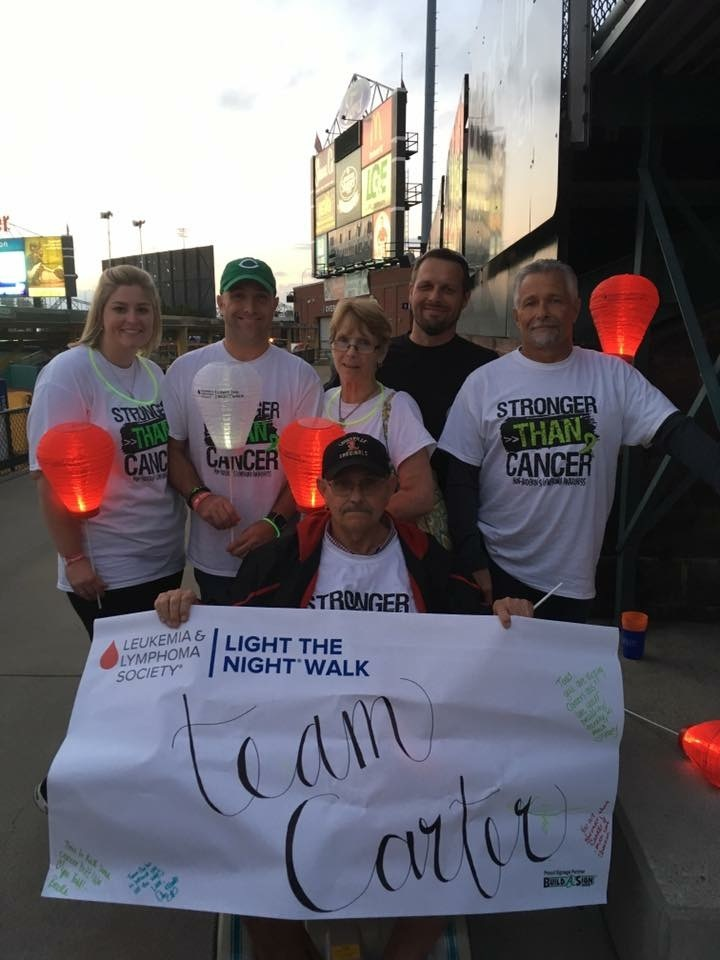 Team Carter Fighting Lymphoma T-Shirt Photo