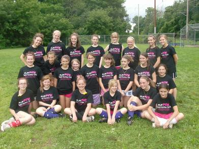 Play Pink Field Hockey Clinic T-Shirt Photo