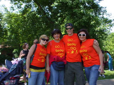 Go Becky Cheerers T-Shirt Photo