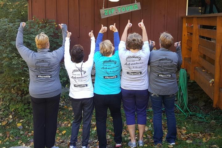 Walking Squad Adventures! T-Shirt Photo