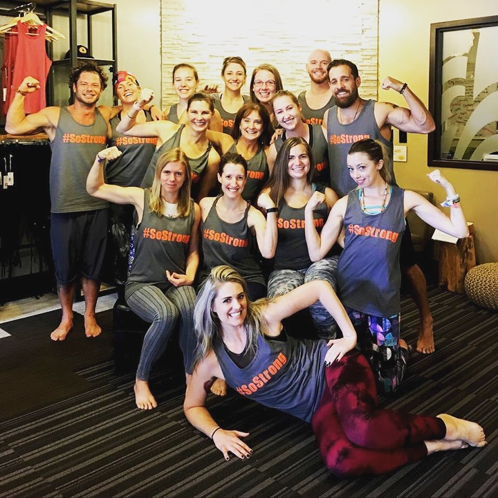 Yogis Are So Strong T-Shirt Photo