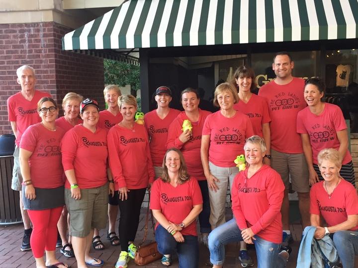 Reds Triathlon Team T-Shirt Photo