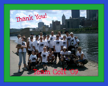 Team Colt Walks For Autism T-Shirt Photo