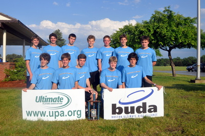 Medfield Boss Ultimate Frisbee T-Shirt Photo
