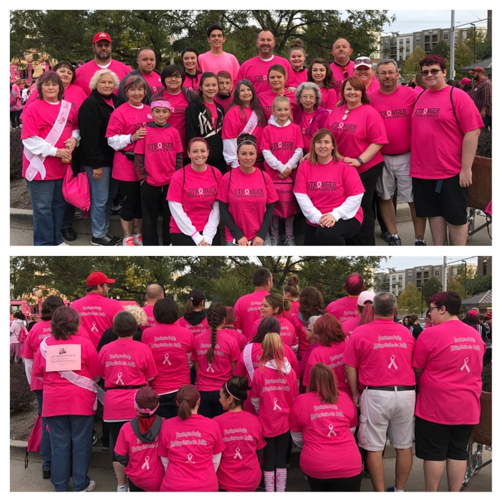 Pennington Peaks Making Strides For Jackie T-Shirt Photo