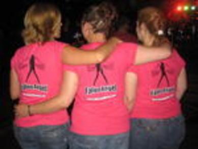 A Few Fans Of Fallen Angel Sporting The New T Shirts. T-Shirt Photo