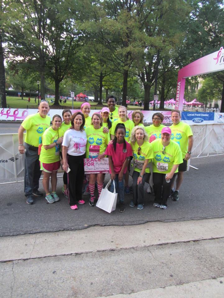 Susan G. Komen Race For A Cure 2016 T-Shirt Photo