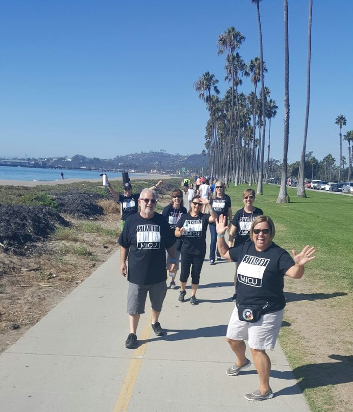 Straight Outta Micu  Walking To Cure Cystic Fibrosis! T-Shirt Photo