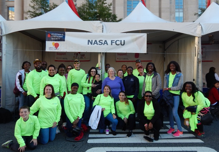 Nasa Fcu Light The Night Team T-Shirt Photo