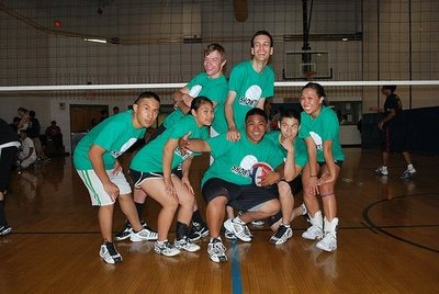 Showtime Volleyball T-Shirt Photo
