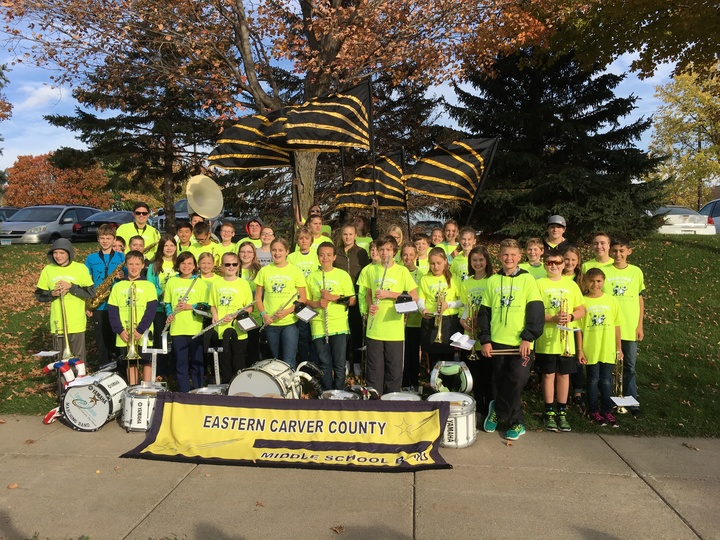Eccs Middle School Marching Band T-Shirt Photo