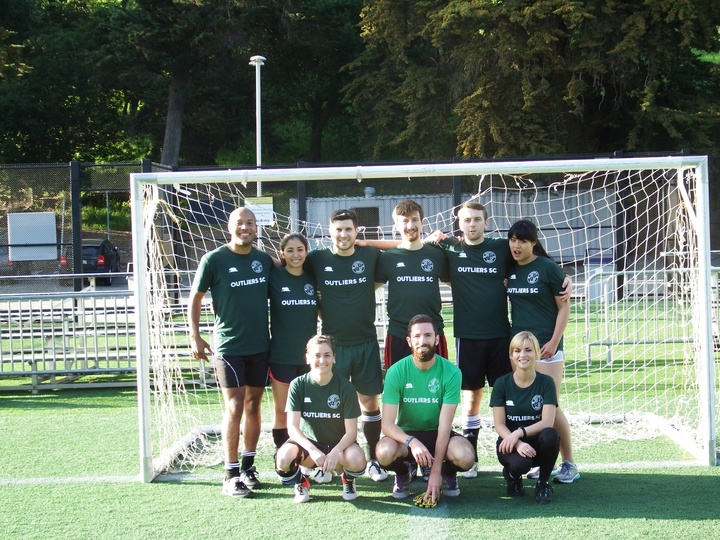 Outliers Uc Berkeley Im Soccer Team! T-Shirt Photo
