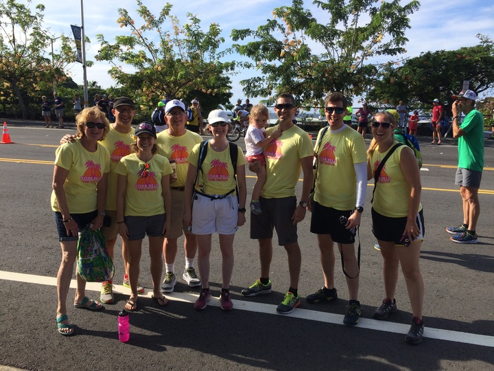 Team Frenchie Goes To Kona T-Shirt Photo