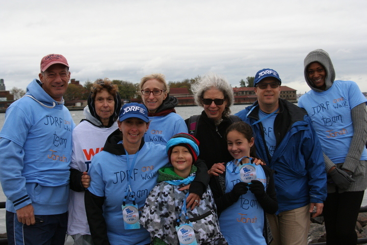 Jdrf One Walk Team Jonah 2016 T-Shirt Photo