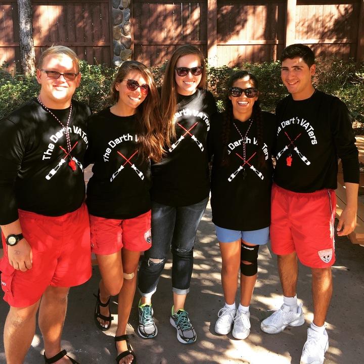Darth Va Ters Lifeguard Team  T-Shirt Photo