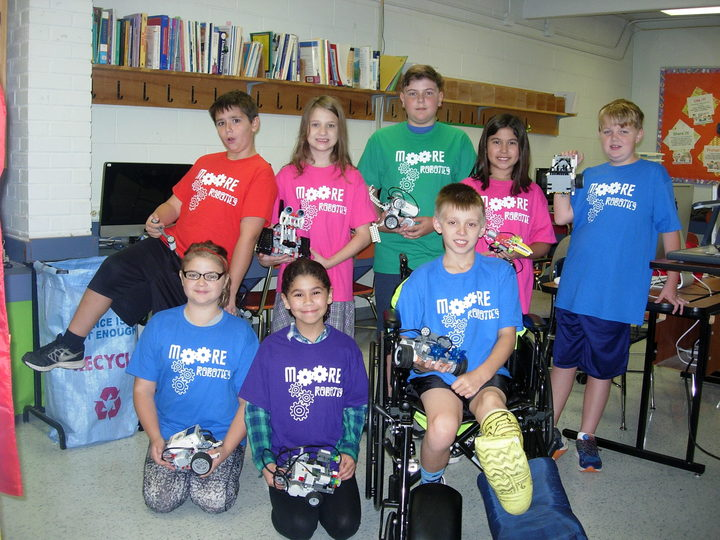 We Are A Colorful Bunch And Love Our T Shirts! T-Shirt Photo