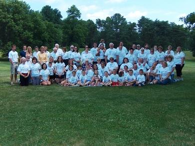 Potts Family Reunion T-Shirt Photo