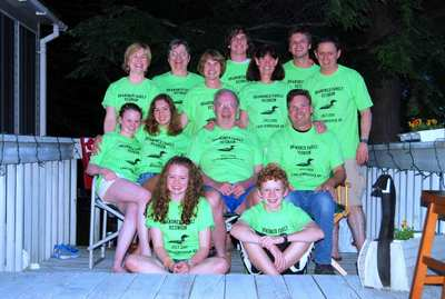 Brandner Family Reunion @ Lake Winnisquam, Nh T-Shirt Photo