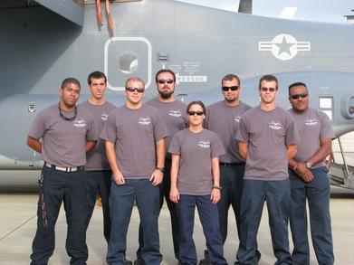 Cv 22 Maintenance Team T-Shirt Photo