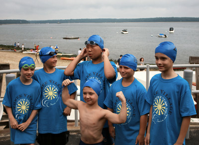 10 And Under Iron Men At Open Water Champs T-Shirt Photo