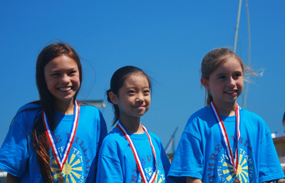 10 & Under 1,000 Yard Open Water Champs Medal Winners From T T-Shirt Photo