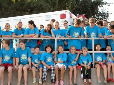 Part Of The Three Village Swim Club Open Water Championships T-Shirt Photo