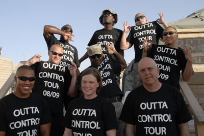 Outta Control Tour 08/09 T-Shirt Photo
