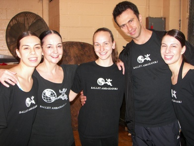 Ballet Ambassadors Company Members T-Shirt Photo