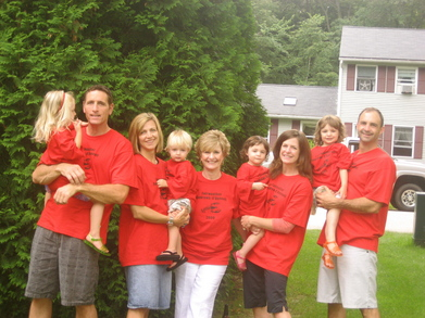 Family Clambake/Birthday Celebration In Nh T-Shirt Photo