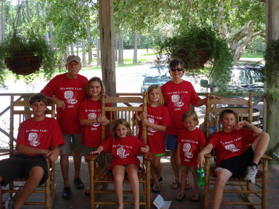 Grammie Camp Visits Avery Island La T-Shirt Photo
