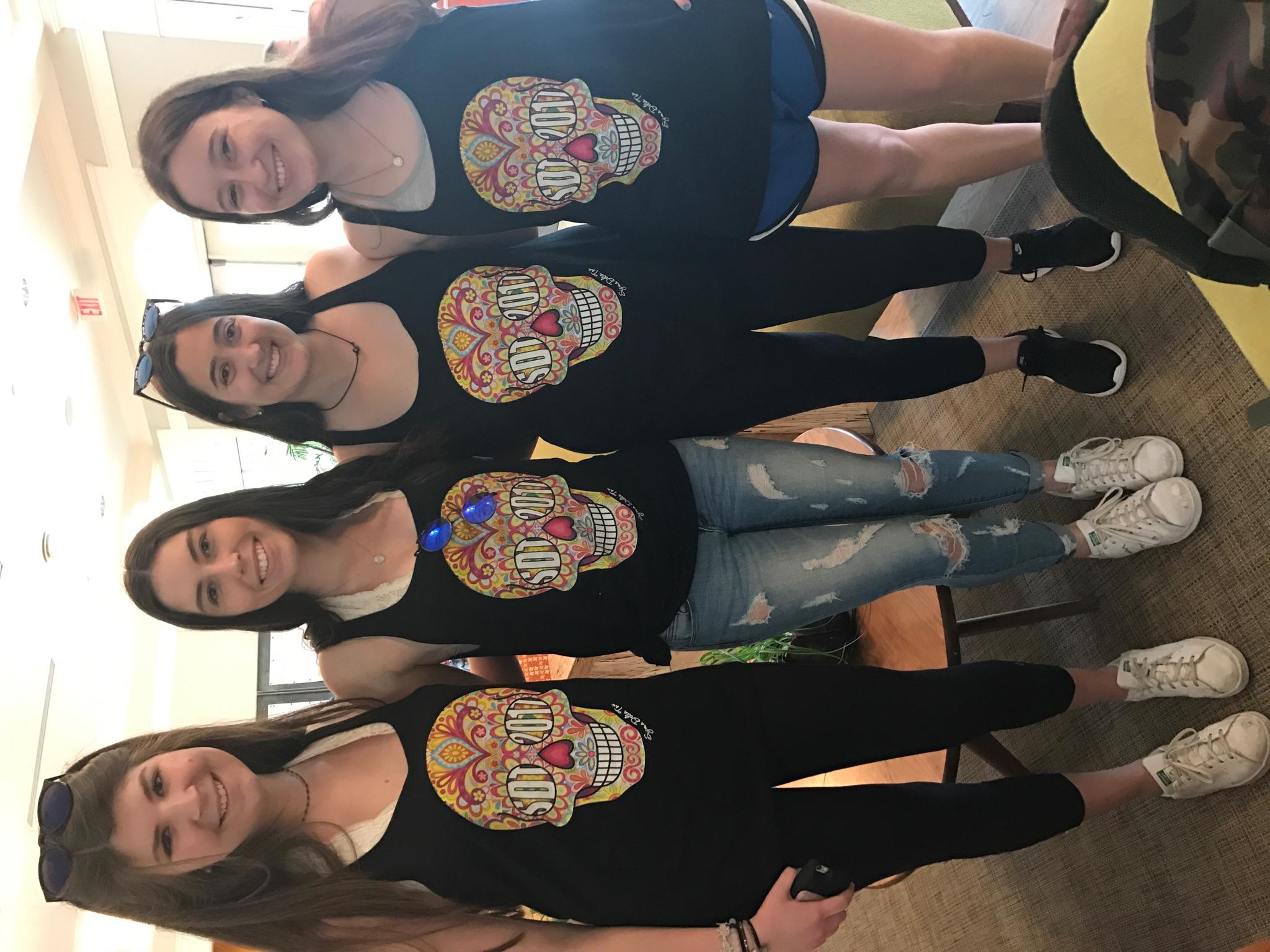 Custom T Shirts For Sdt Spirit At Tulane University
