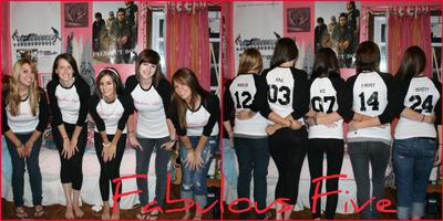 Fabulous Five T-Shirt Photo