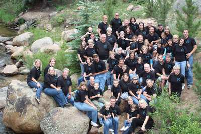 Brolra Family Reunion 2009 In Estes Park, Co. T-Shirt Photo