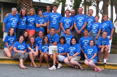 Myslinsky Family At Jekyll Island Georgia T-Shirt Photo