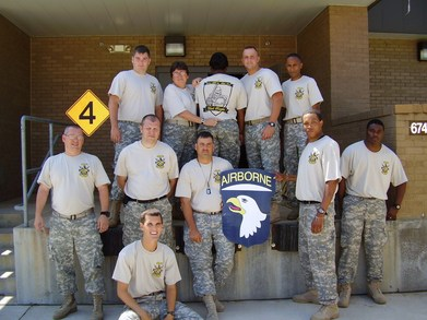 Fort Campbell's Dark Knights T-Shirt Photo