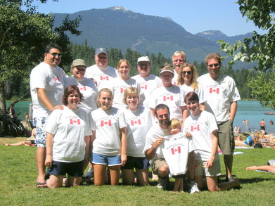 Whistler Family Round Up T-Shirt Photo