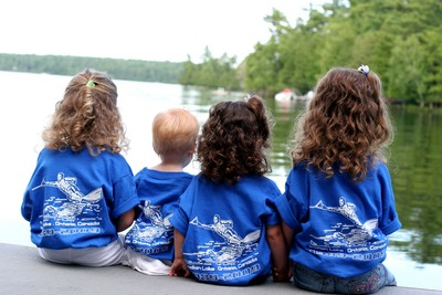 A Day At The Lake T-Shirt Photo