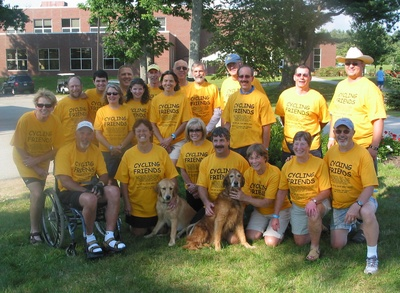 Our Bike To The Breakwaters Team T-Shirt Photo