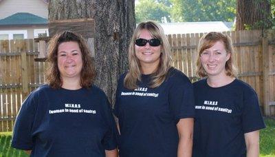 Three Of The Winos T-Shirt Photo