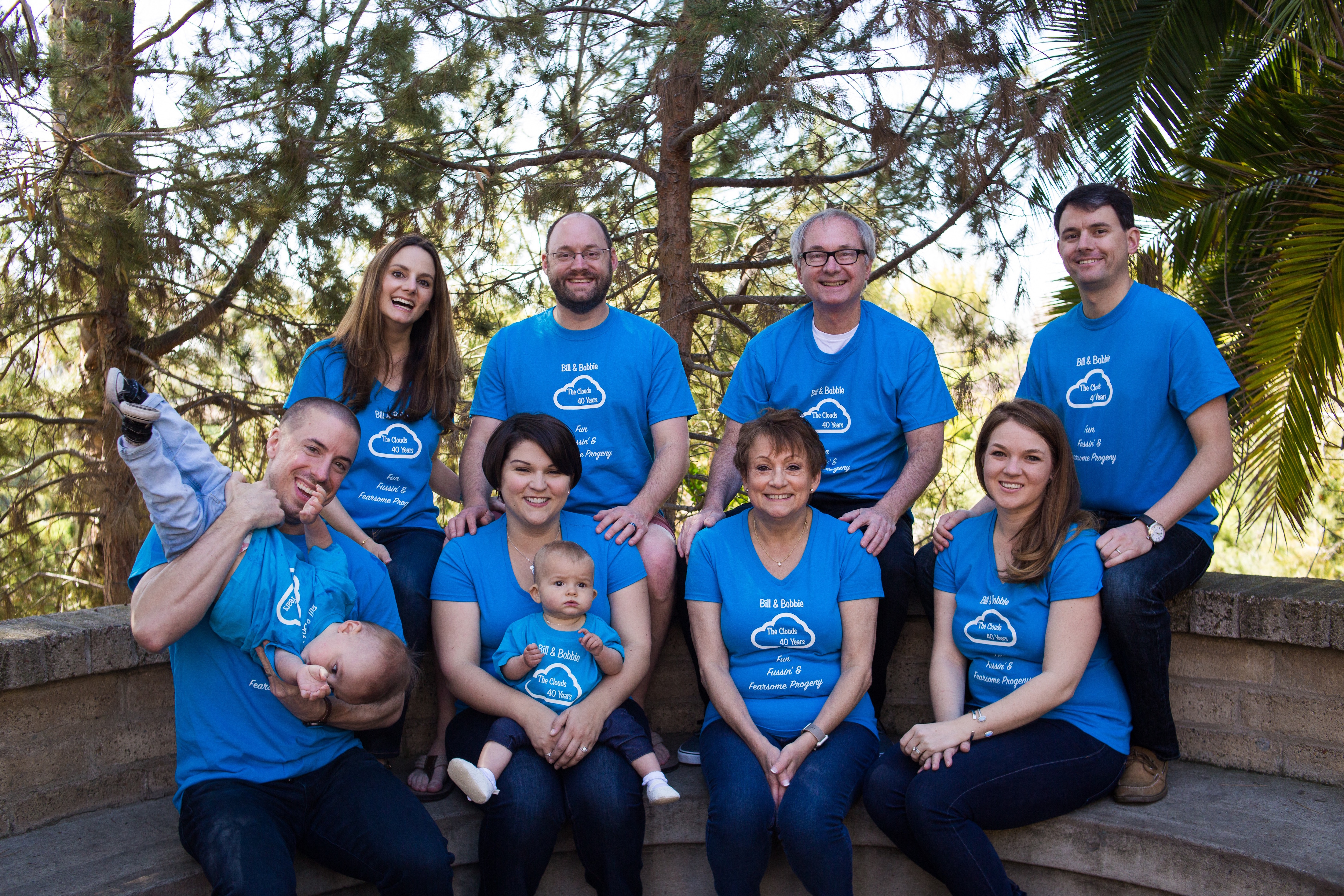 Shirt design san diego - San Diego Family Celebration T Shirt Photo
