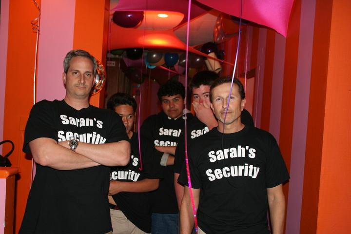 Sarah's Swat Team T-Shirt Photo