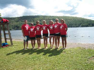 The Town Of Fabius Lifeguards T-Shirt Photo